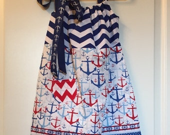 Anchors Away Girl's Summer FunDress