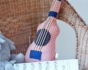 Musical guitar plush