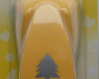 Punch - Yellow Lever Type - Fir Tree - 38 mm cut top to bottom