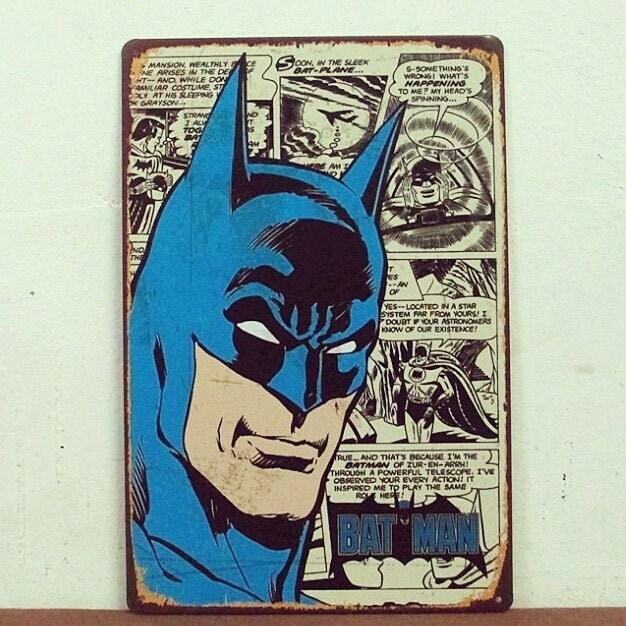 Retro Superhero Art
