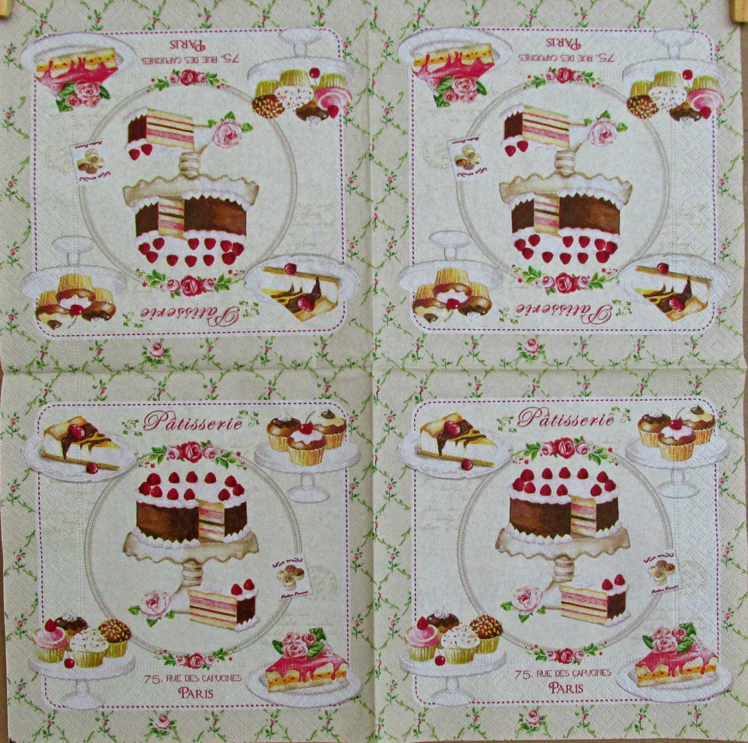 Napkins For Decoupage Decoupage Napkins Art Paper Napkins