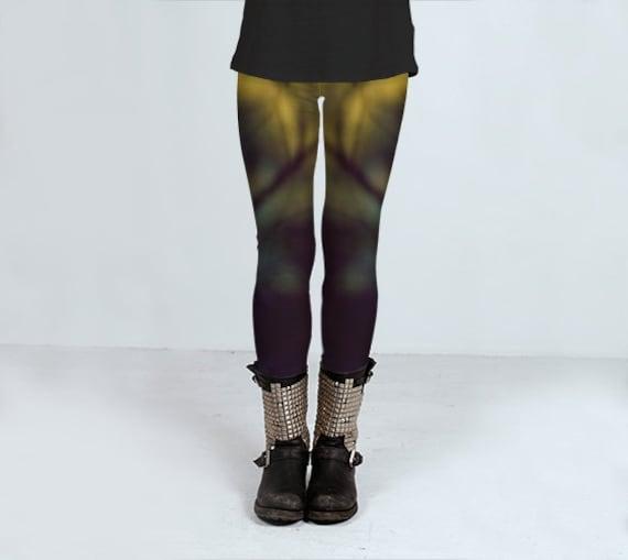 b96bee1b19f92 Punk Goth Leggings Yoga Leggings Workout Leggings Womens