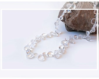 Rock Crystal Necklace and Silver 925