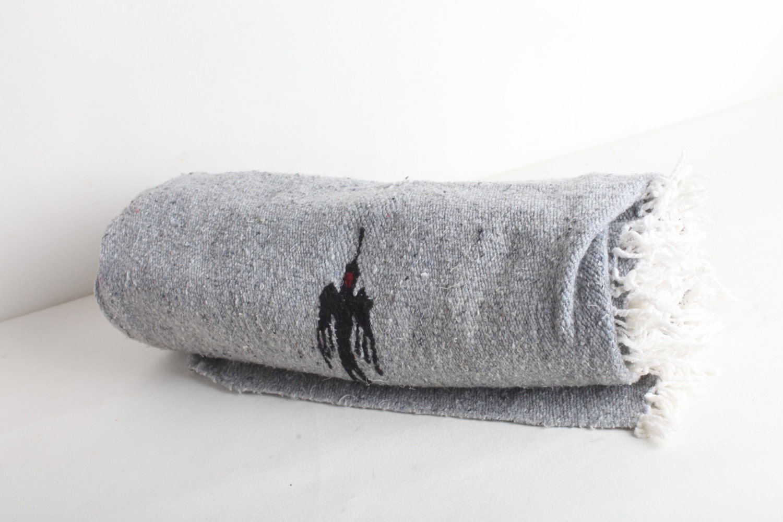 Vintage Mexican Blanket 105