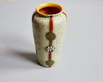 Pretty vase stoneware - 60s