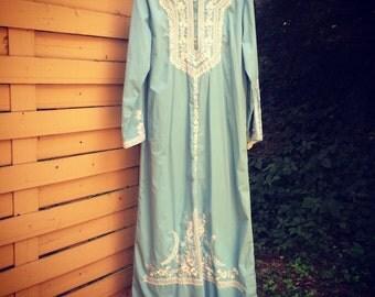 Kaftan gorgeous powder blue