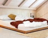Low Loft Hardwood Bed Frame by Get Laid Beds