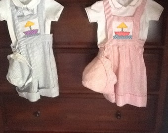 Twins Boy and Girl Short and Jumper