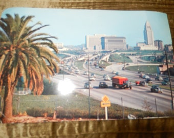 CALIFORNIA HOLLYWOOD POSTCARD