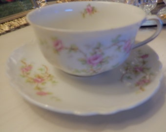 AUSTRIA TEACUP and SAUCER