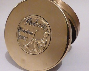 RARE antique GLEBEAS COMPACT antique gifts for her collector's piece