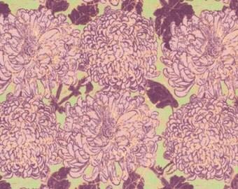 Amelies Attic Bloomers Sun Bleach   Free Spirit Floral  Cotton Print Quilt Fabric