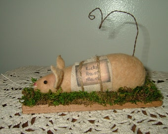 LUCKY HOUSE MOUSE~Last Ones! Reduced! Clearance!
