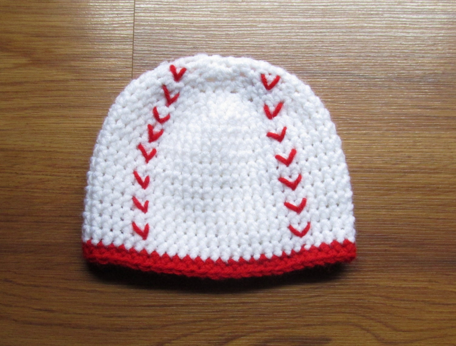 Baby Baseball hat Handmade Crochet Baseball by ...