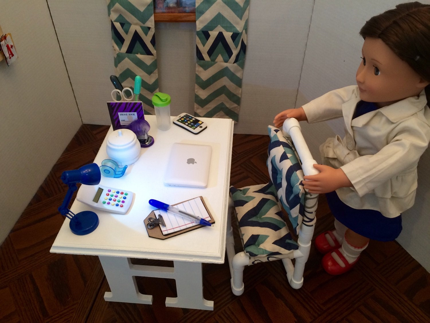 Desk and Chair for the American Girl 18 by SandisDreamCreation