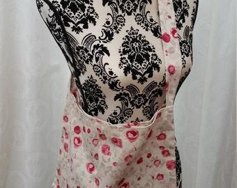 hand made cross shoulder tote/messenger bag