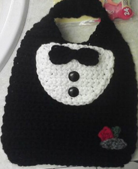 Tuxedo Bib Crochet Formal Wear