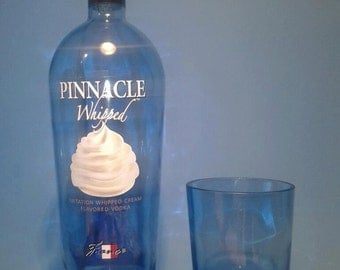 Pinnacle ® Short Recycled Glass ( Set of 4 ) Liquor Bottle Tumblers