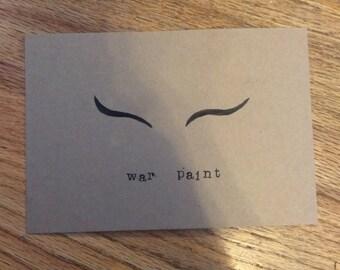 Hand Lettered Print