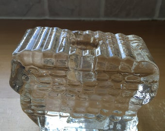 Scandinavian Crystal Sheep Candleholder