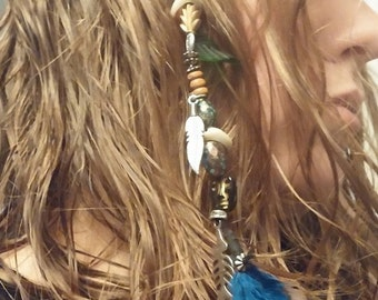 Hair Feather, Accessories, Jack Sparrow, Pirate