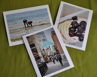 5x7 Stationery Photo Note Cards Puget Sound