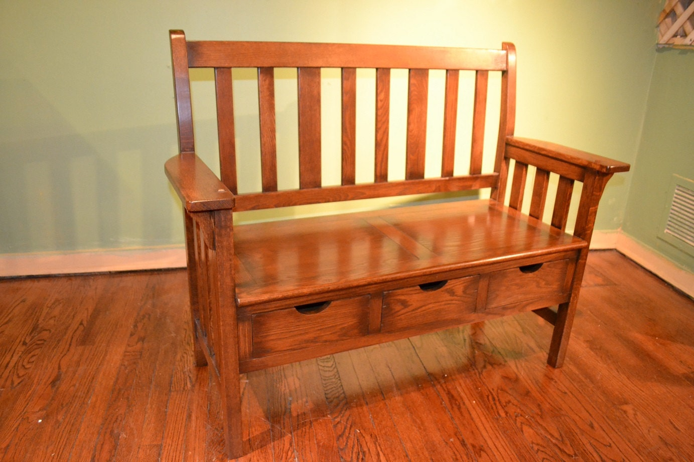 Mission Entry Bench 28 Images Coaster 60 Quot Wide Large Mission Style Oak Finish Wood