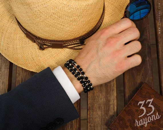 Men's Bracelets by 33Rayons on Etsy