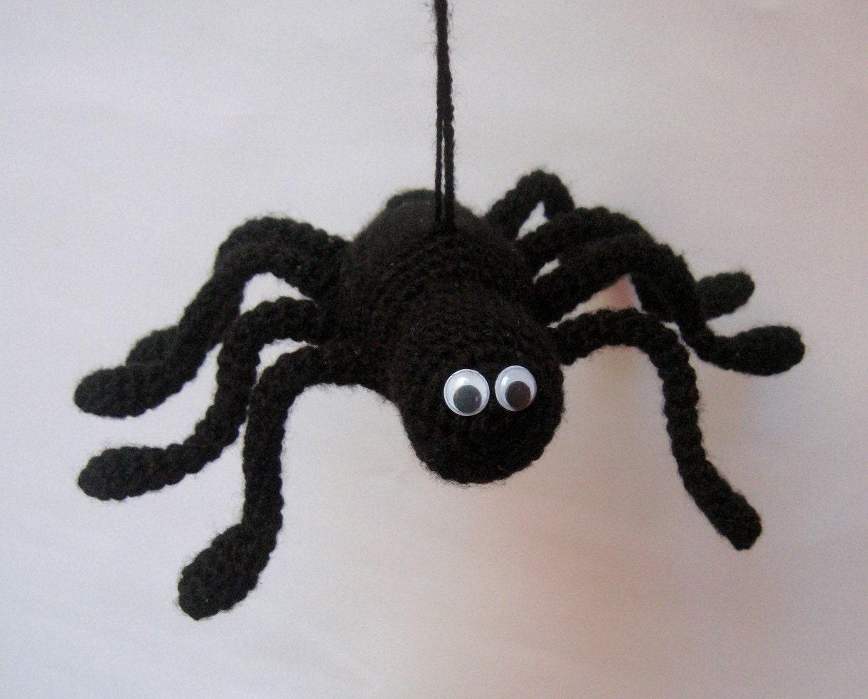 PATTERN Halloween Spider Amigurumi Halloween Crochet