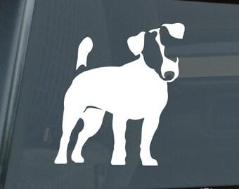 Jack Russell Terrier Die Cut Vinyl Sticker - 200