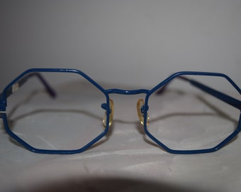 octagon glasses etsy