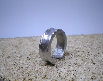 ring, ring, ring, hand hammered, hammered light oxide.. unisex rings, jewelry