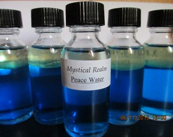 Peace Water - Magick Peace Water - Wicca Peace Water - Peace Water Potion - Tranquility Potion - Witch's Peace Water - Magick Supplies