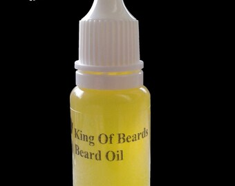 10ml Organic Beard Oil - 57 flavours - shaving kit mustache ** UK DE BLADES **