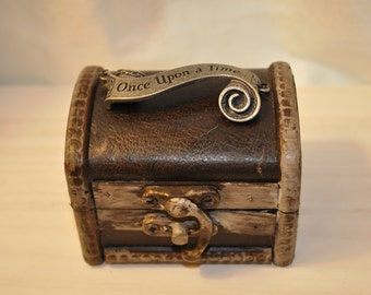 Ring Bearer's Box Once Upon A Time