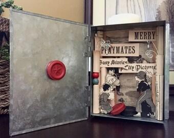 Merry Playmates Shadow Box