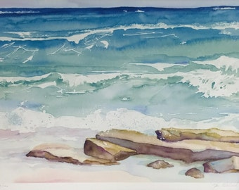 Sea Shore Giclee