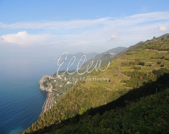 Hiking in Cinque Terre II, Photography, 8x10, Nature, Italy, Cinque Terre