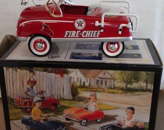 Texaco Fire Chief Pedal Car Bank