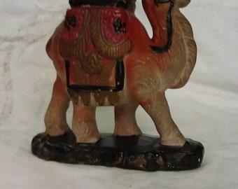 Porcelain Camel Figurine Japan