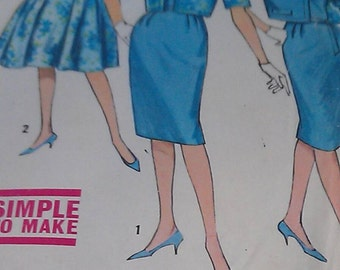 Simplicity Pattern No. 4360 size 12 miss