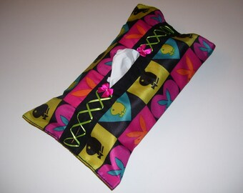 CORSET TISSUE BOX covers - playboy tissue box covers - playboy home decor - playboy kleenex box - playboy covers - playboy decor -