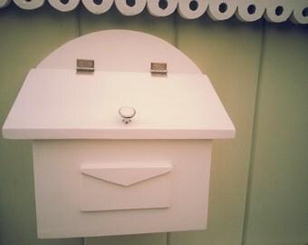 Handmade Wooden Mailbox