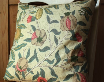 William Morris Fruit Pomegranate Cushion Cover 16""