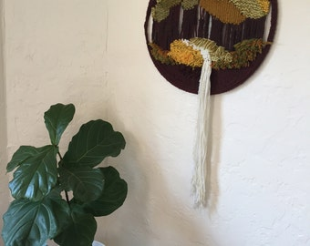 Hoop Yarn Art