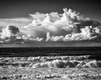 "A fine art photographic Giclée print. ""Porthmeor Sea and Sky Trilogy 3"""