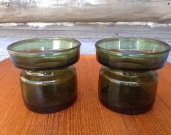 Vintage Dansk IHQ Denmark Danish Modern Candle Holders