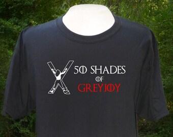 50 Shades of Greyjoy T-shirt, Game of thrones, 50 Shades of Grey