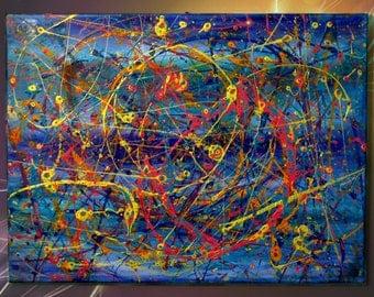 Eidothea 18 x 24 acrylic on canvas