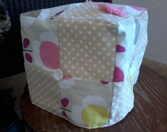 Patchwork Tea Cosy in Pink
